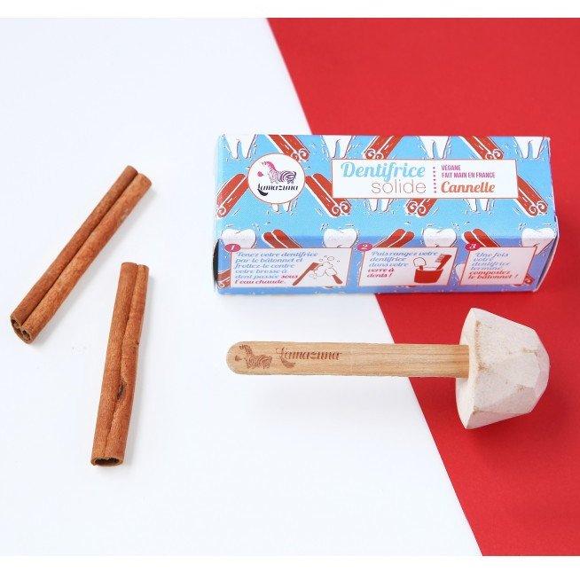 Cinnamon solid toothpaste
