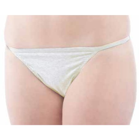 Classic woman v-string in organic cotton