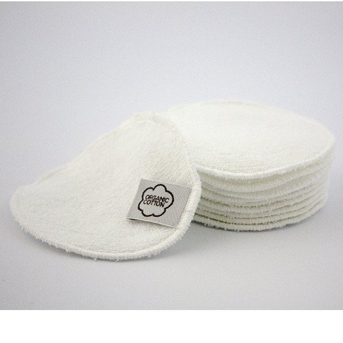 Cleansing pads in organic cotton - pack of 10