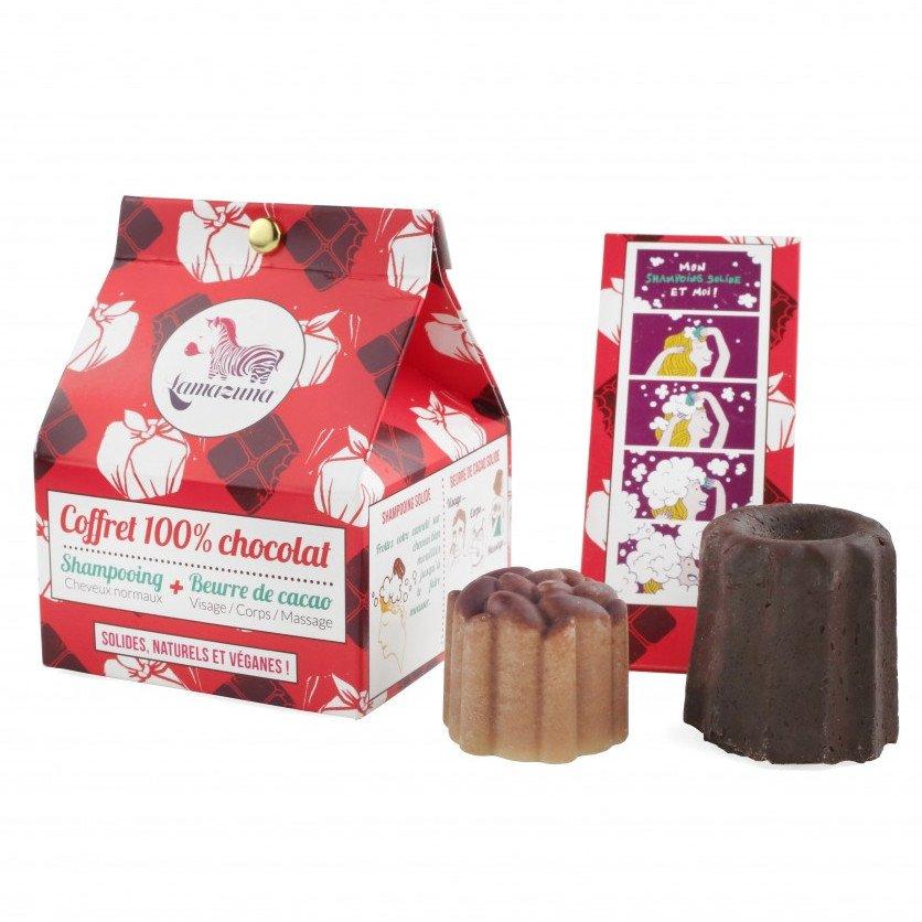 Cofanetto al cioccolato: Shampoo + Burro Cacao corpo