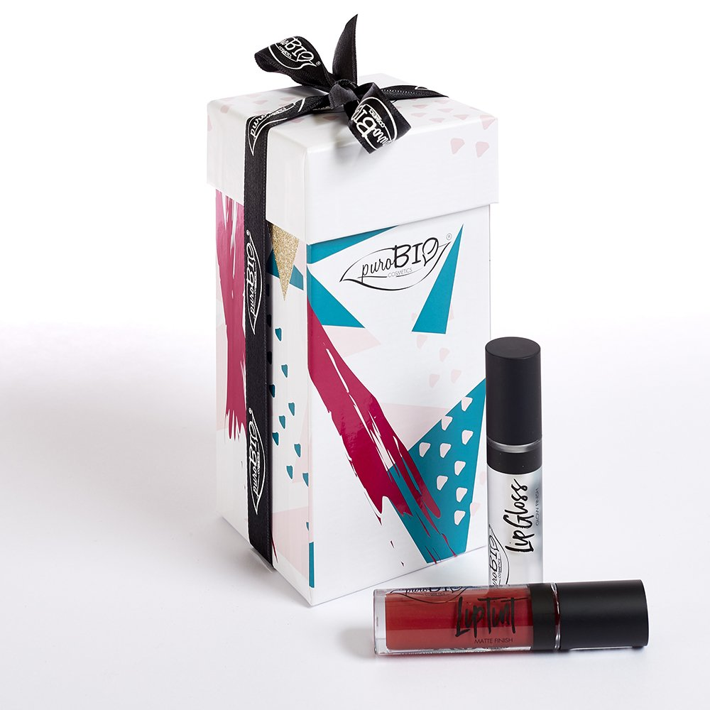 Cofanetto Regalo C Liptint + Lipgloss puroBIO