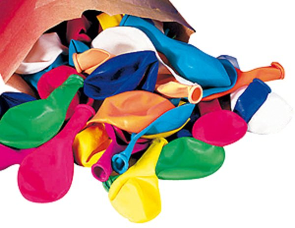 Colorful inflatable balloons