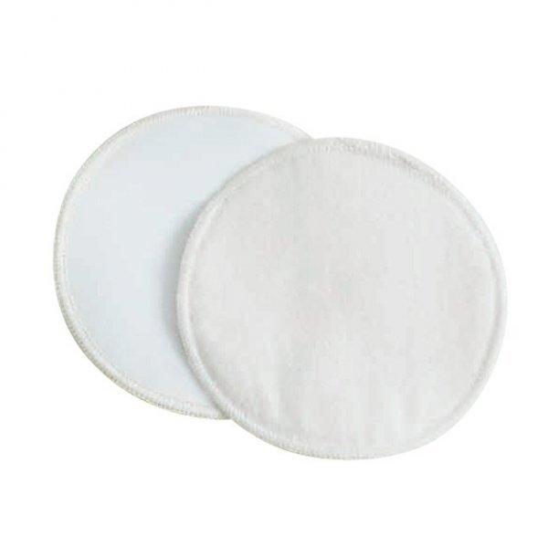 Coppette assorbilatte lavabili cotone bio - Ø14 cm