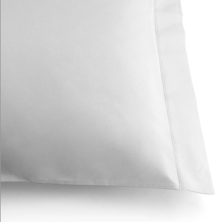 Coppia Federe 55x85 cm Mymami in cotone bio Bianco Neve