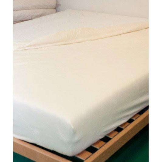 Coprimaterasso in cotone biologico matrimoniale 160x190-195-200
