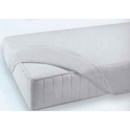 Coprimaterasso letto singolo in cotone naturale 90x200