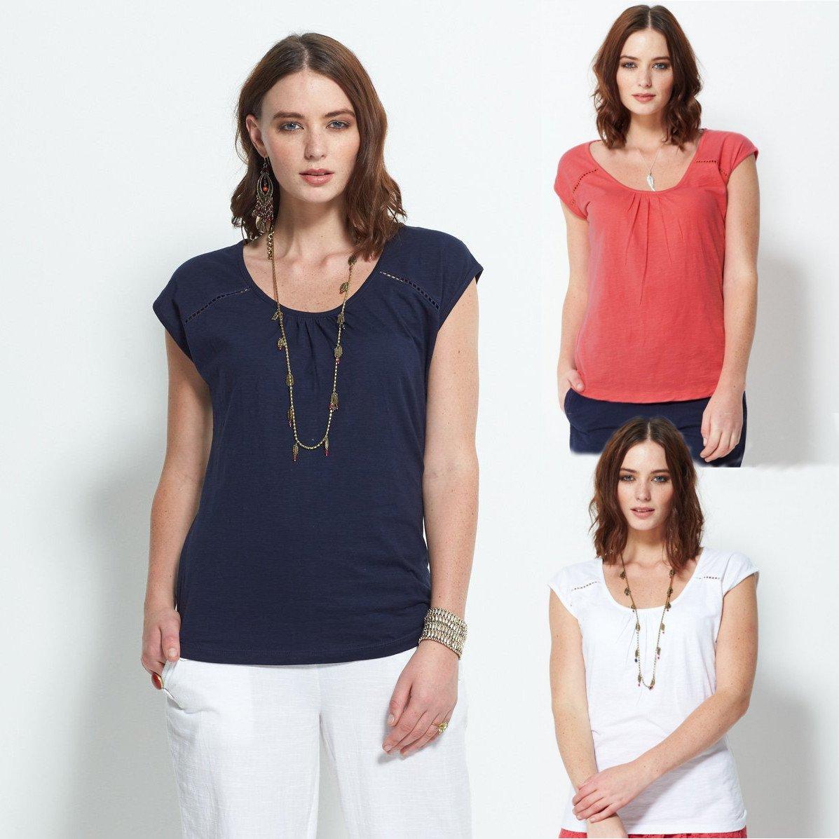 Organic Cap Sleeve T Shirt