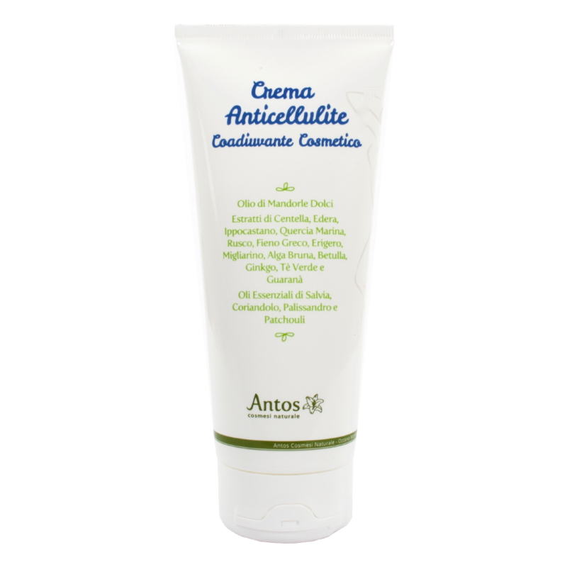 Crema anticellulite naturale in tubo