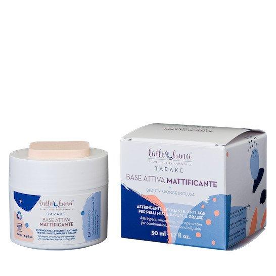Crema Base Attiva Mattificante per pelli miste, impure e grasse