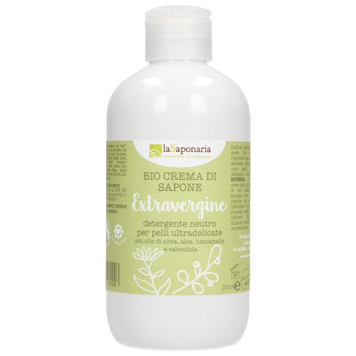 Crema di sapone extravergine - pelli ultadelicate