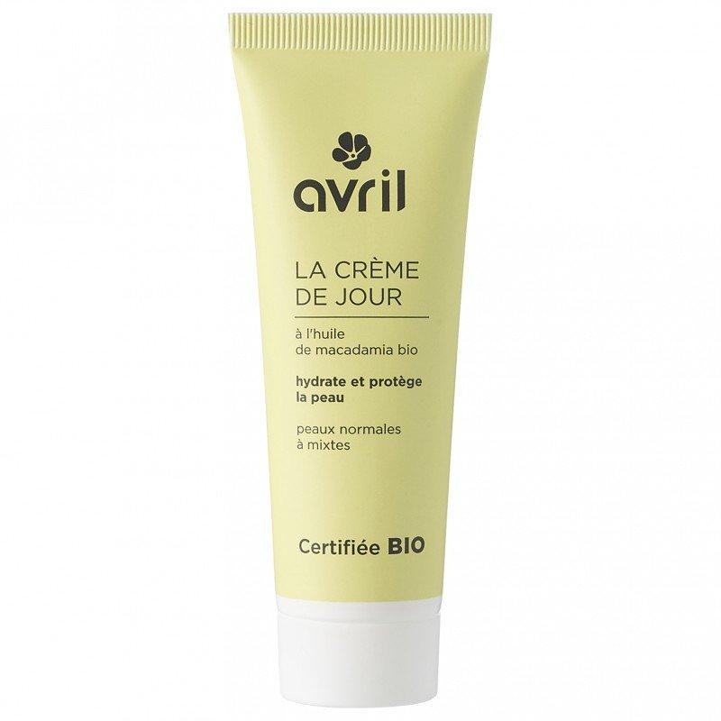 Crema giorno biologica pelli normali e miste Avril
