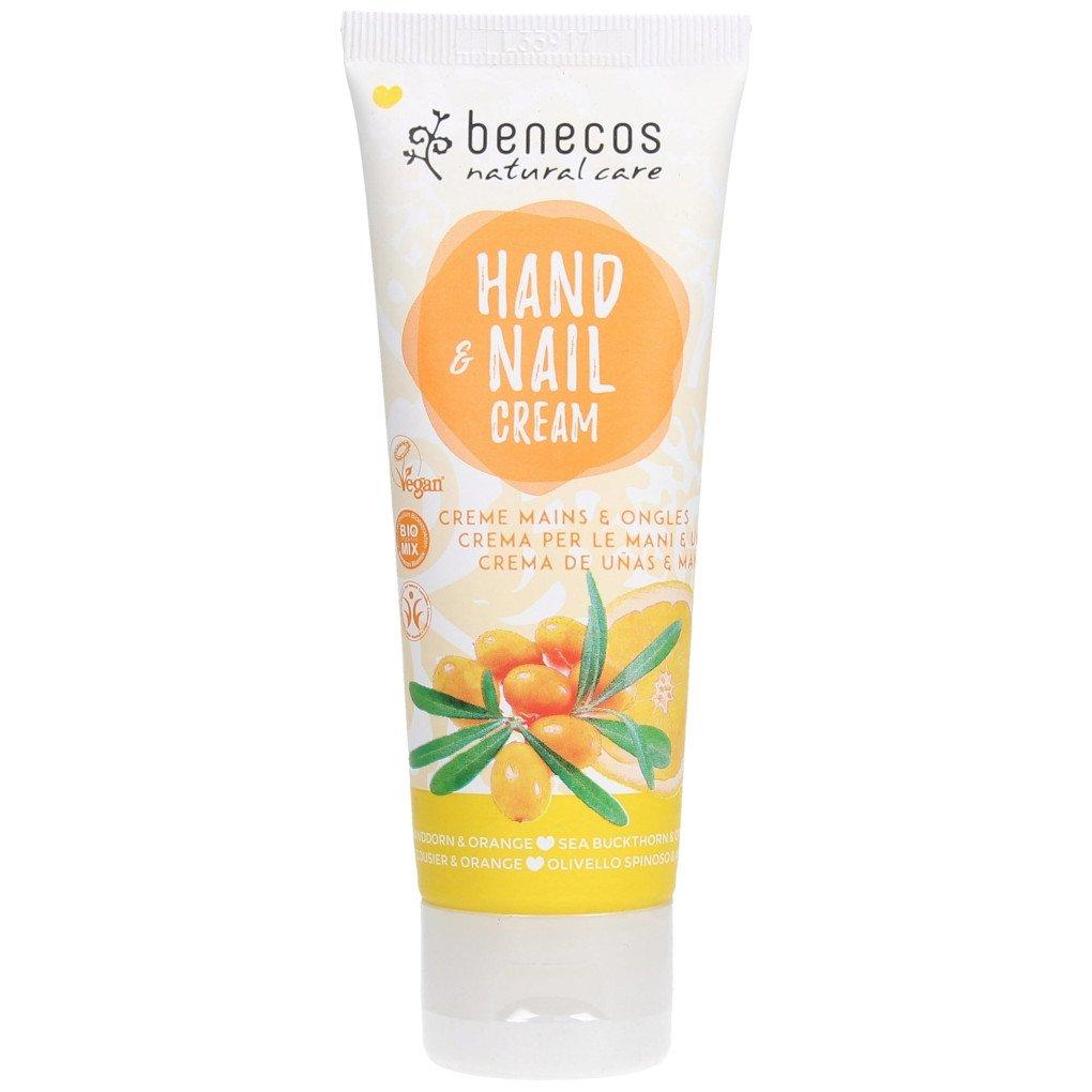 Crema Mani e Unghie olivello spinoso e arance Benecos