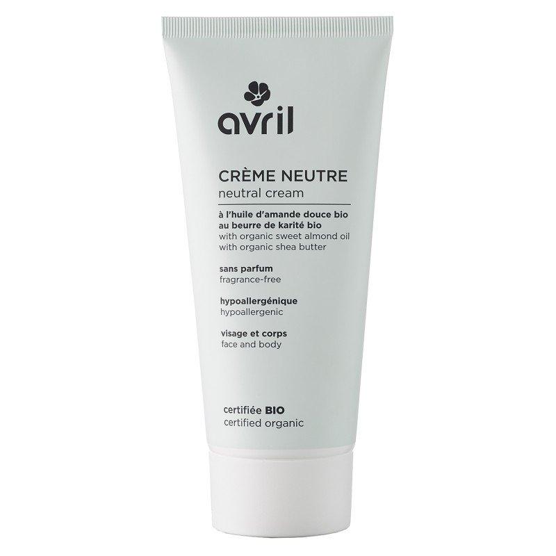 Crema viso e corpo Neutra senza profumo Avril BioVegan