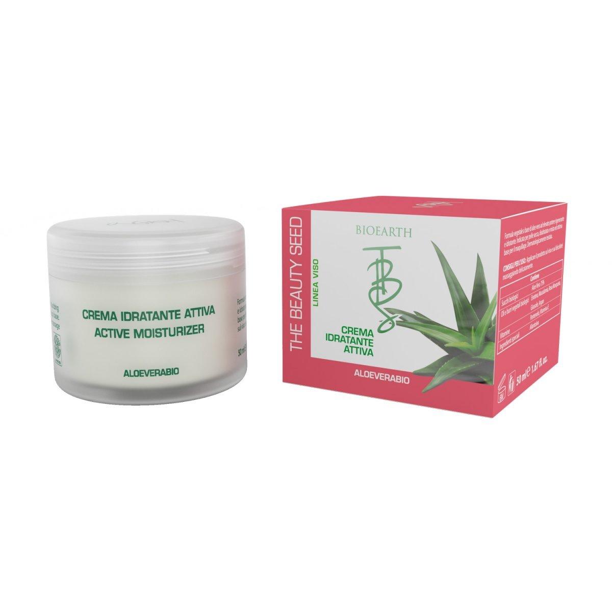 The Beauty Seed Crema idratante attiva all'Aloe