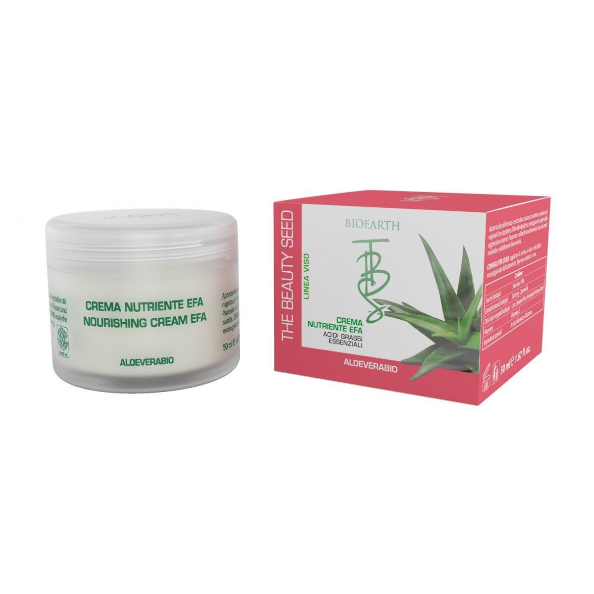 TBS Crema nutriente EFA con Aloe per pelli secche