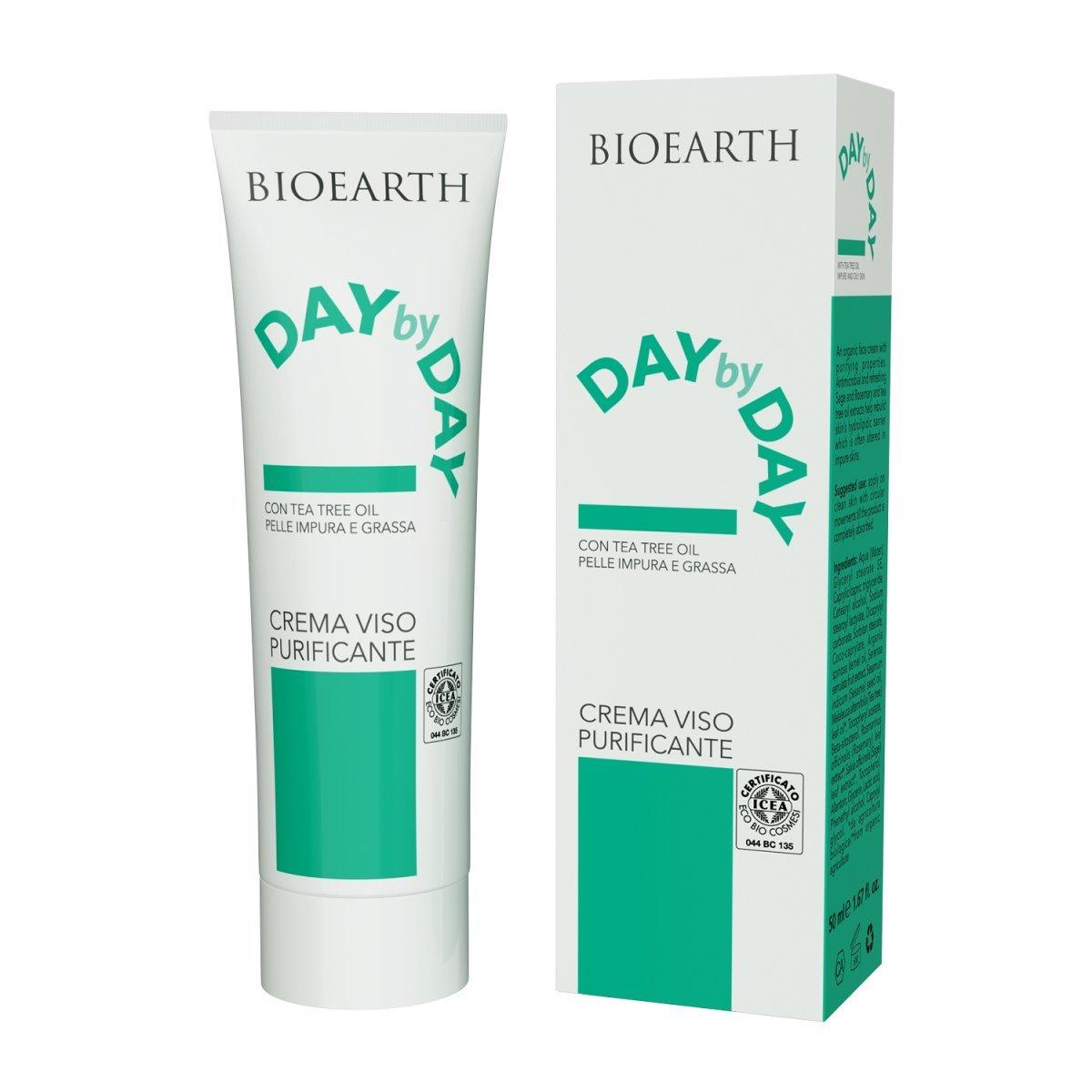 DaybyDay Crema viso purificante per pelle grassa e impura