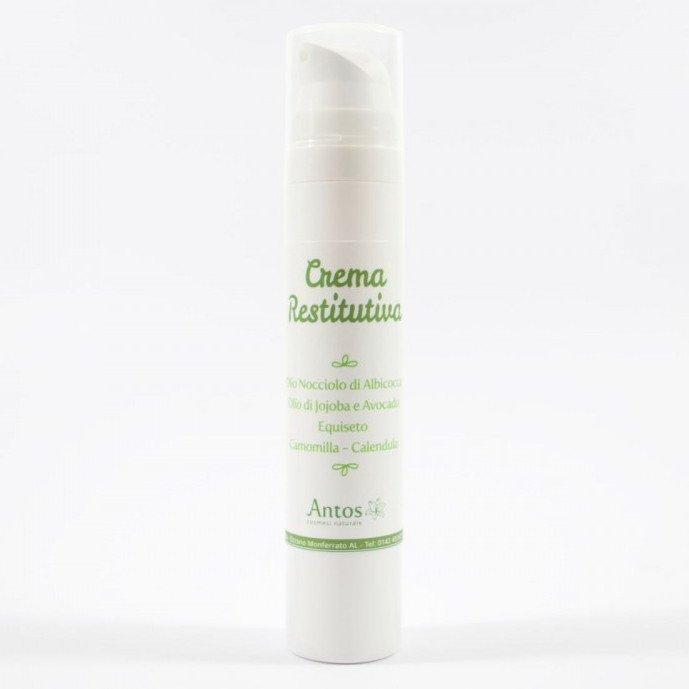 Crema viso restitutiva per pelli secche