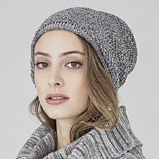Cappello donna Selina in canapa e cotone bio