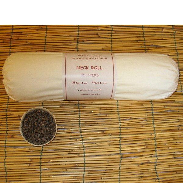 Neck Roll 11x40 in pula di Grano Saraceno