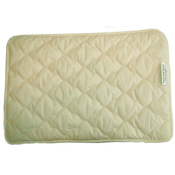 Cuscino piatto 40x60 in cotone biologico
