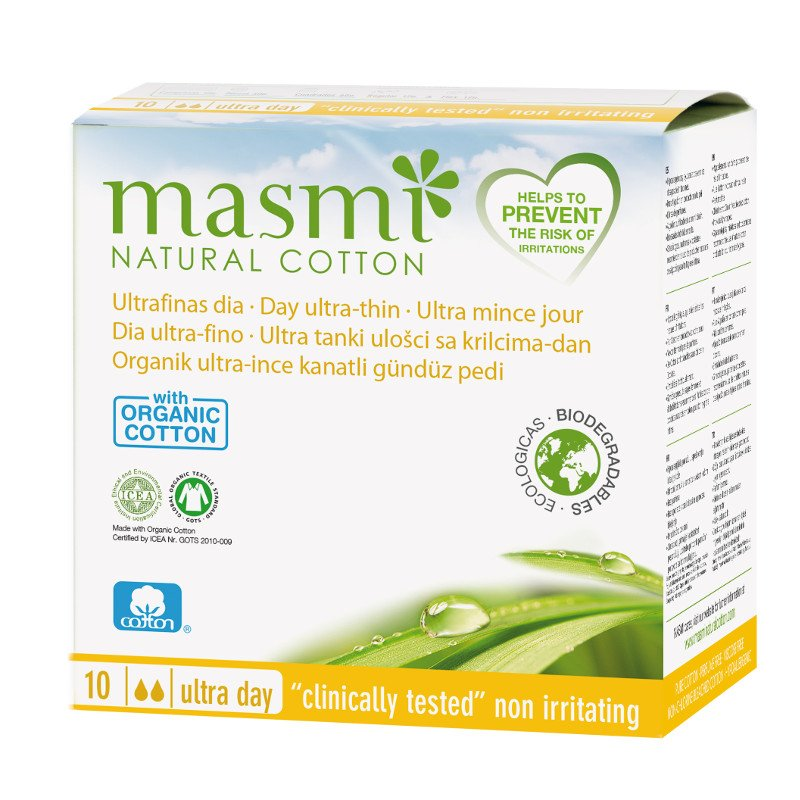 Pads in organic cotton Masmi - Day