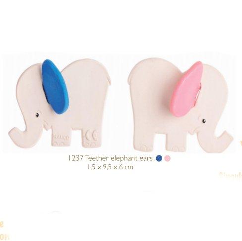 Dentaruolo Lanco Elefante in caucciù naturale