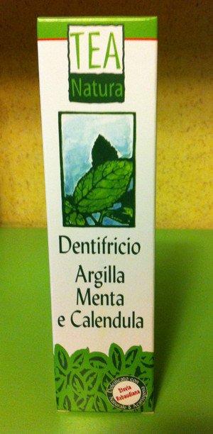 Dentifricio argilla menta e calendula