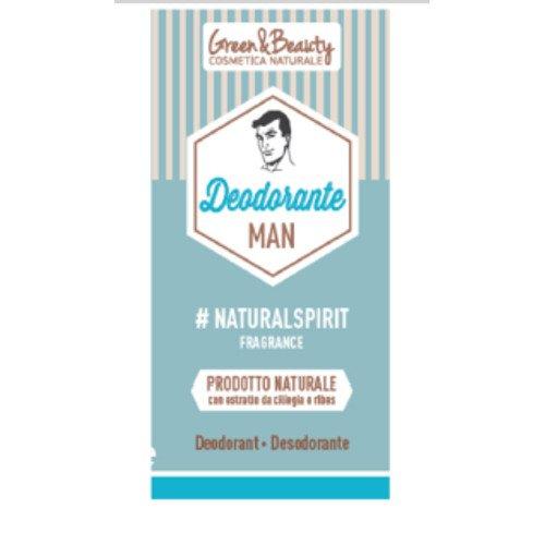 Deodorante naturale Green&Beauty Uomo