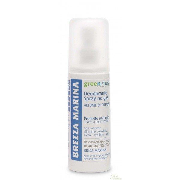 Deodorante spray Brezza Marina allume di potassio