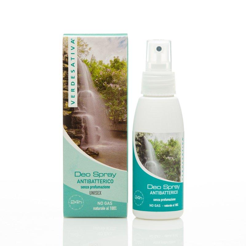 Deodorante spray antibatterico alla Canapa Senza Profumazione
