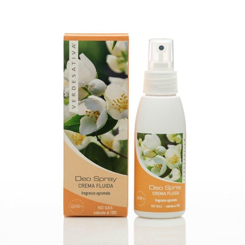 Deodorante spray no gas alla Canapa fragranza agrumata