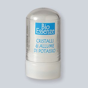 Deodorante stick neutro all'allume di potassio
