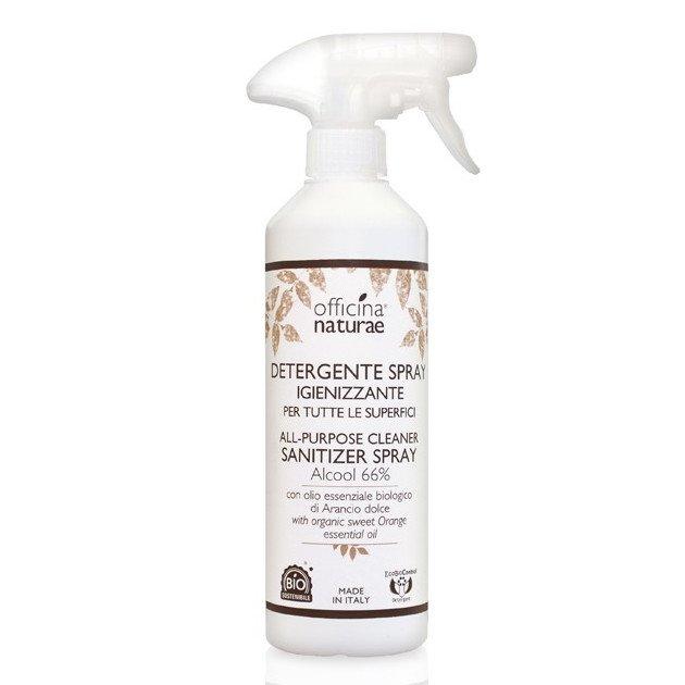 Detergente Spray Igienizzante per tutte le superfici Alcool 66%