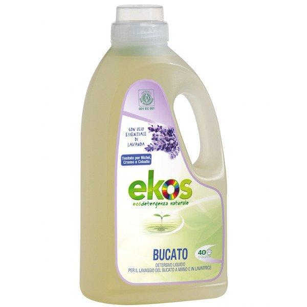Detersivo liquido bucato a mano e lavatrice Ekos