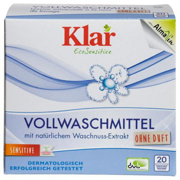 Detersivo in polvere lavatrice EcoSensitive - senza profumazione