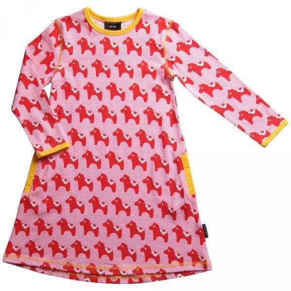 Dress Dalahorse in organic cotton