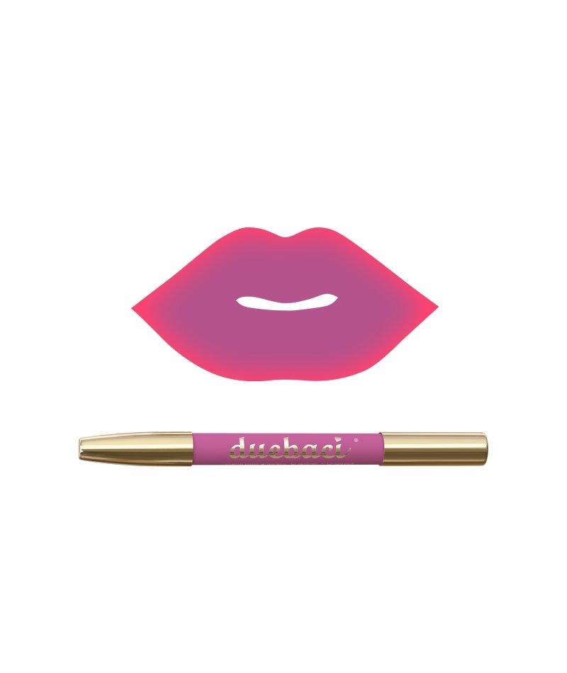 DueBaci Mermaid lipliner + lipstick