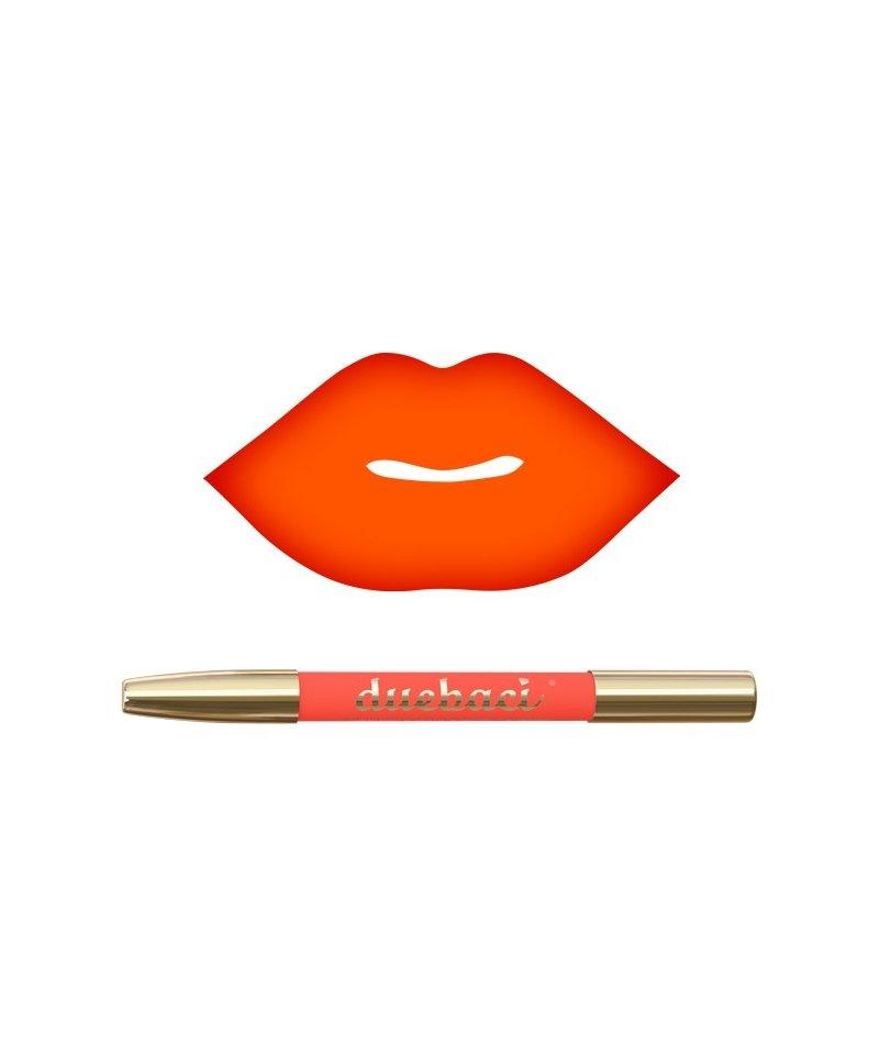 DueBaci Money lipliner + lipstick