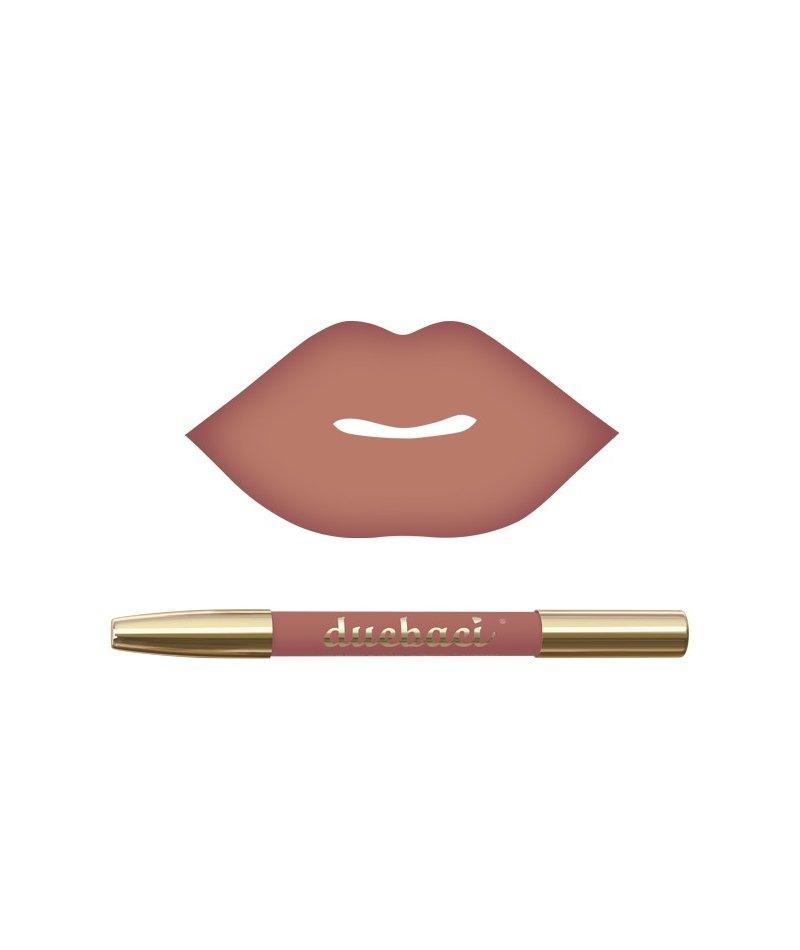 DueBaci Virgin lipliner + lipstick