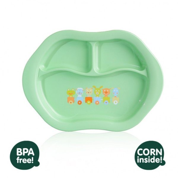 Ecological baby plate