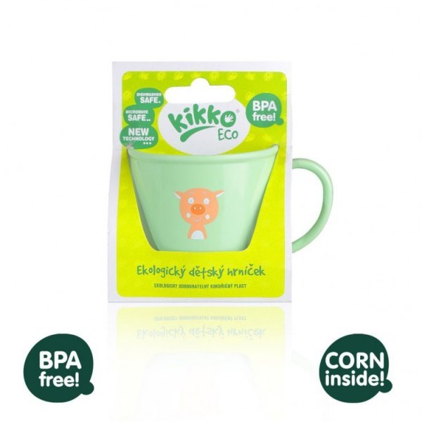 Ecological children cup with handle