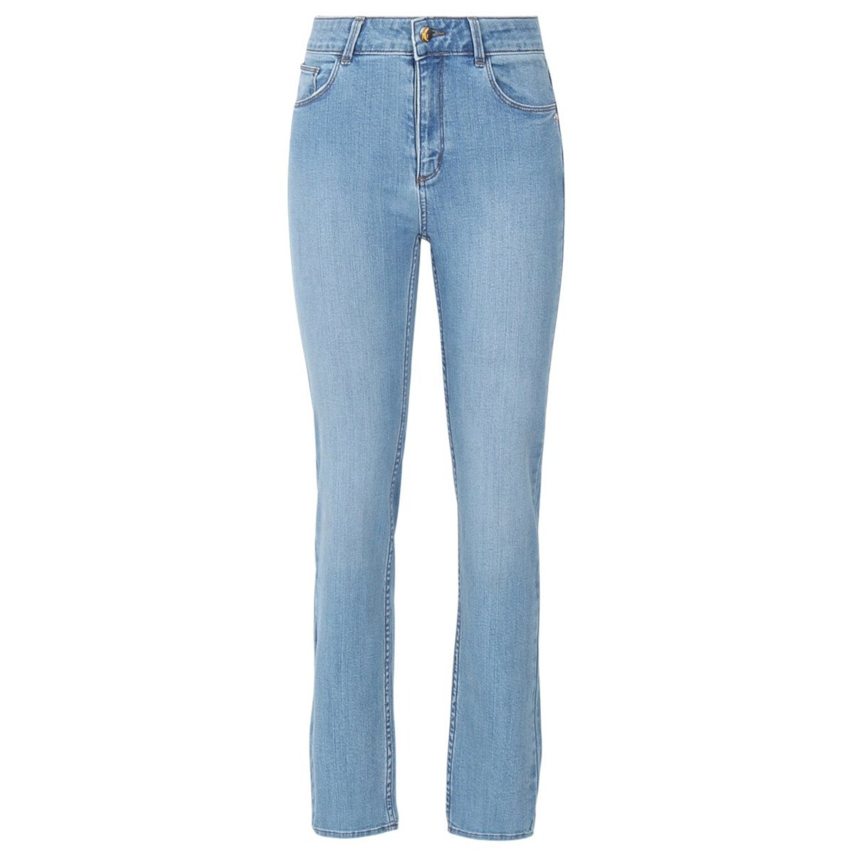 EMILY Organic Slim Fit Jeans in Light Wash