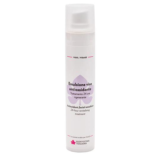 Emulsione viso antiossidante Trattamento 24 ore rigenerante