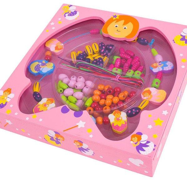 Fairy bead box in wood