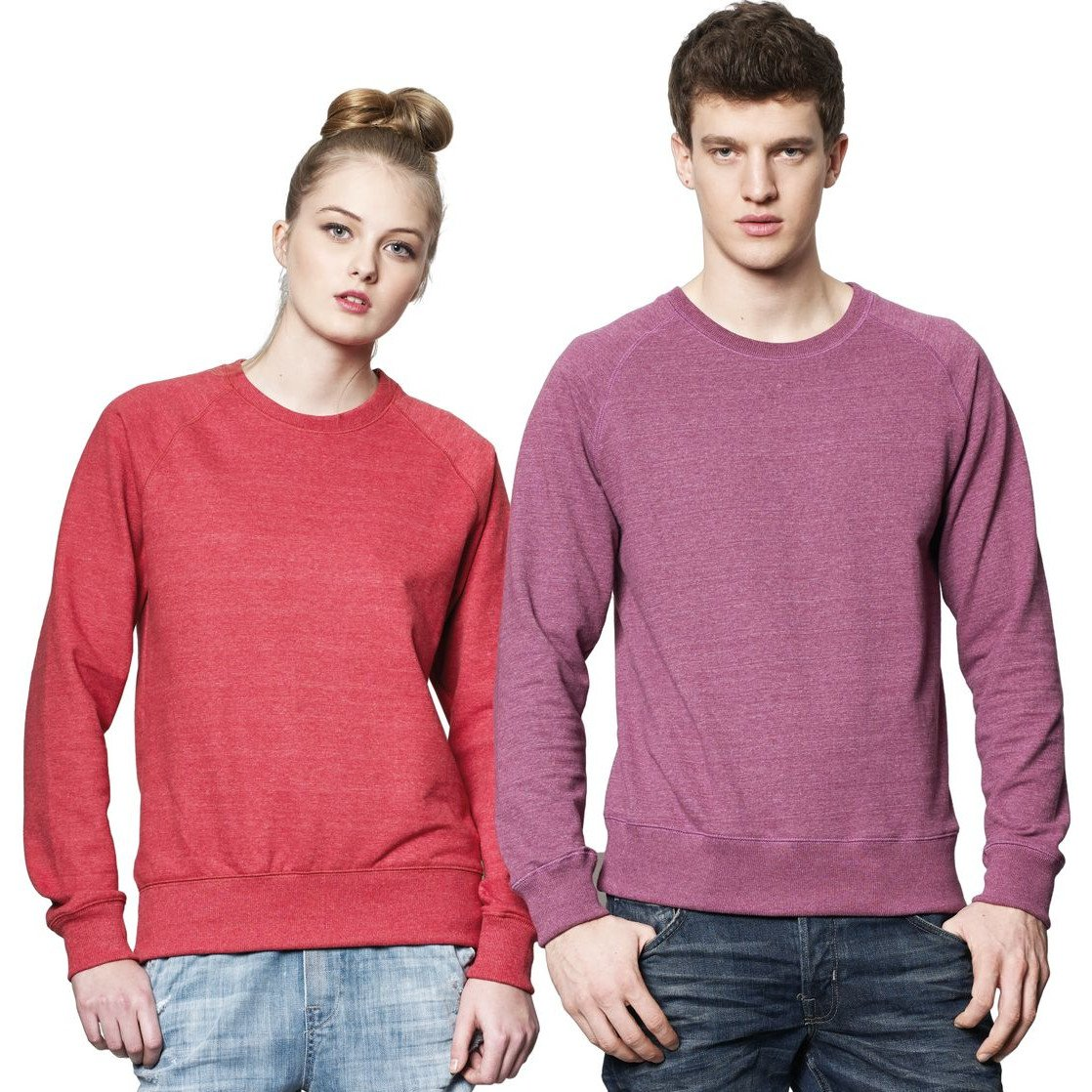 Felpa unisex Salvage Recycled in cotone biologico