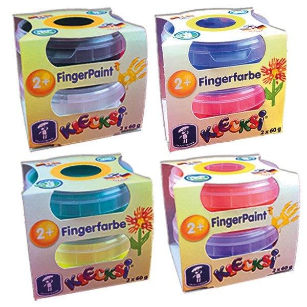 Finger paint Klecksi 2 jars