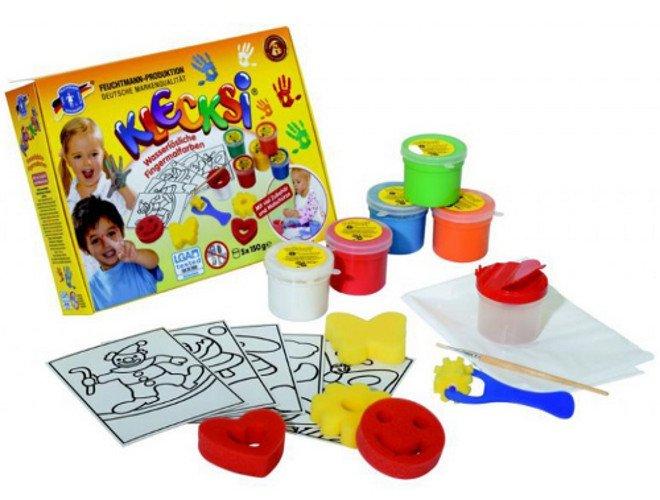Finger paints creative box