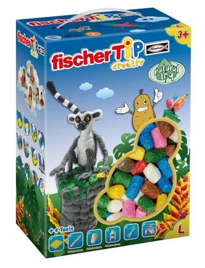 FischerTip costruzioni in amido vegetale - scatola 600 pezzi