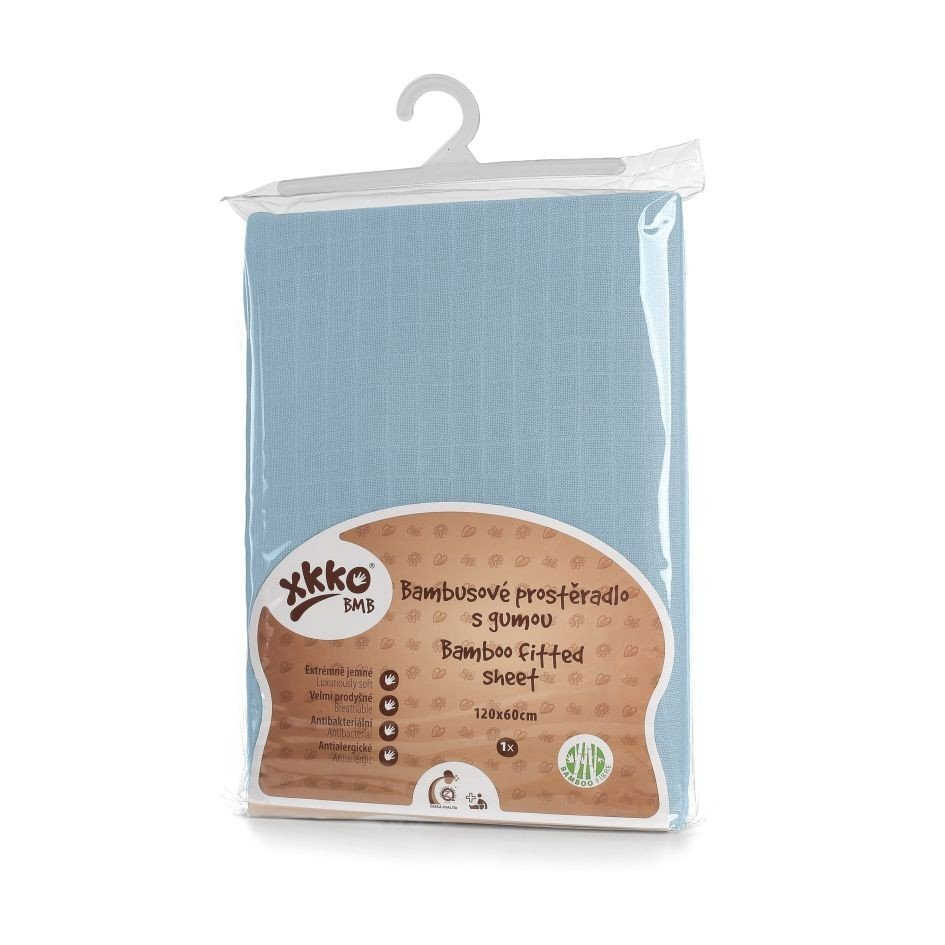 Fitted bed sheet in bamboo
