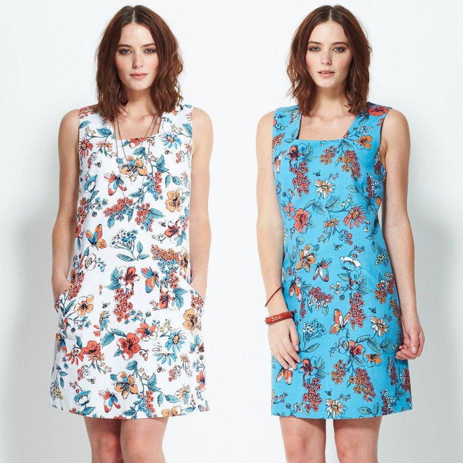 Pinafore Dress in organic cotton